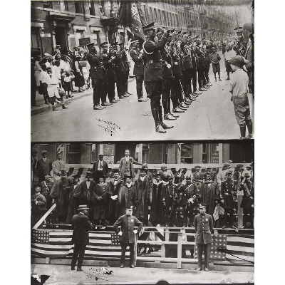 Marcus Garvey and Garvey Militia, Harlem, from the James VanDerZee: Eighteen Photographs portfolio