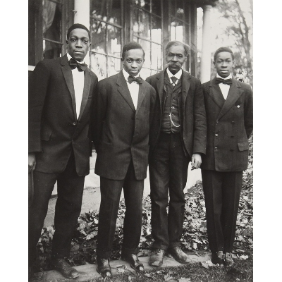 The VanDerZee Men, Lenox, Massachusetts, from the James VanDerZee: Eighteen Photographs portfolio
