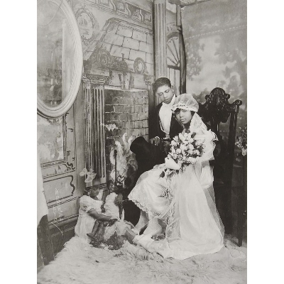 Wedding Day, Harlem, from the James VanDerZee: Eighteen Photographs portfolio